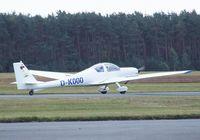 D-KOOO @ EDLO - Scheibe SF-36R at Oerlinghausen airfield - by Ingo Warnecke