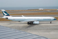 B-HLF @ RJGG - Cathay Pacific A330-300 - by J.Suzuki