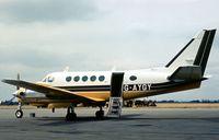 G-AYGY @ EGLK - Beech King Air 100 seen at Blackbushe in the Summer of 1976. - by Peter Nicholson