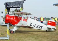 D-EKRE @ EDKB - Bücker (Doflug) Bü 133C Jungmeister at the Bonn-Hangelar centennial jubilee airshow