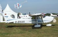 D-EKAA @ EDKB - Reims / Cessna FR.172K Skyhawk SP at the Bonn-Hangelar centennial jubilee airshow - by Ingo Warnecke