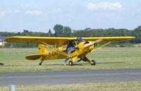 D-EJKP @ EDKB - Piper J3C-65 Cub at the Bonn-Hangelar centennial jubilee airshow #