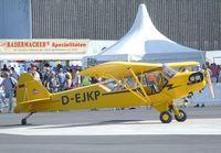 D-EJKP @ EDKB - Piper J-3C-65 Cub at the Bonn-Hangelar centennial jubilee airshow # - by Ingo Warnecke