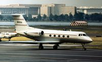 N100A @ DCA - Gulfstream II of the Exxon Corporation seen at Washington National in May 1973. - by Peter Nicholson