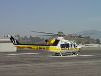 N120LA @ POC - Turning down after arriving at EHA pad - by Helicopterfriend