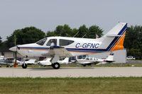 C-GFNC @ KOSH - Landing 27 at OSH - by Todd Royer