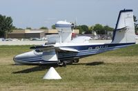 C-GIUL @ KOSH - Nose gear collapsed during taxi.