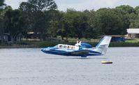 N13KL - Landing Lake Agnes Florida - by Jack Suske