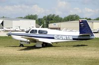 C-GWTR @ KOSH - Taxi to parking - by Todd Royer