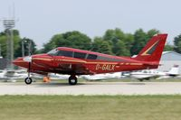 D-GALX @ KOSH - Landing 27 at OSH - by Todd Royer