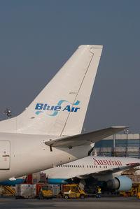 YR-BAG @ VIE - Blue Air Boeing 737-500