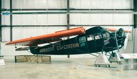 N8006 - Fairchild FC-2-W2 Stars and Stripes of the 1929 Byrd antarctic expedition, at the Virginia Aviation Museum
