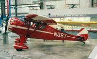 N36Y - Monocoupe 110 Special Little Butch at the Virginia Aviation Museum
