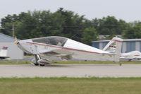 N35SX @ KOSH - Landing 27 at OSH