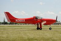 N36XX @ KOSH - Taxi for departure