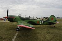 N52DD @ KOSH - Oshkosh EAA Fly-in 2009