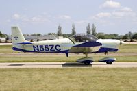 N55ZC @ KOSH - Taxi for departure