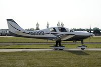 N63PB @ KOSH - Taxi for departure