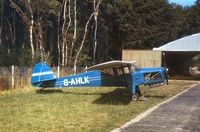 G-AHLK photo, click to enlarge