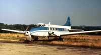 G-ASUW @ BQH - This Riley Dove of Fairflight Charters was seen at Biggin Hill in the Summer of 1975. - by Peter Nicholson