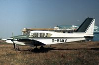 G-BAWV @ BQH - This Aztec was seen at Biggin Hill in the Summer of 1975. - by Peter Nicholson