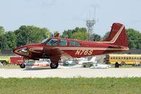 N76S @ KOSH - Landing 27 at OSH