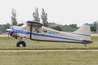N94TP @ KOSH - Taxi to parking