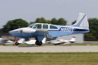 N95DT @ KOSH - Landing 27 at OSH