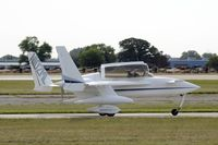 N102ML @ KOSH - Taxi for departure