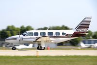 N126DR @ KOSH - Departing OSH on 27 - by Todd Royer