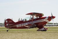 N153GM @ KOSH - Taxi for departure