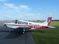 G-CEEY @ EGBT - PA-28 at Turweston
