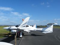 G-CEZG @ EGBT - Diamond DA42 at Turweston