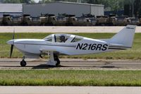 N216RS @ KOSH - Taxi to parking