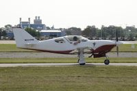 N222PW @ KOSH - Taxi for departure