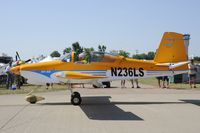 N236LS @ KOSH - Taxi for departure