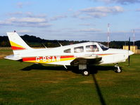 G-BSAW @ EGBO - Haimoss Ltd, Previous ID: N8203C - by Chris Hall