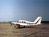 G-BBLP @ BQH - PA-23 Aztec D seen at Biggin Hill in the Summer of 1975. - by Peter Nicholson