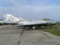 0412 @ LKVY - Mig 19 at Vyskov museum - by John1958