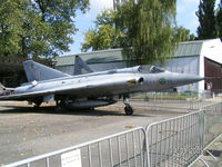 35518 @ LKKB - SAAB Draken, Swedish Air Force - by John1958