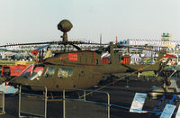 87-0729 @ EGLF - Bell OH-58D Kiowa Farnborough Air Show 1986 - by moxy