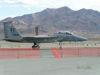 83-0048 @ KLSV - F15 taxying back.....I LOVE the mountains in the background at Nellis!!! - by John1958