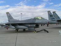 88-0499 @ KLSV - Based F16 - by John1958
