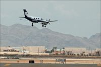 N6070X @ VGT - Landing at North Las Vegas (VGT) - by Jim Boone
