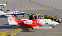 D-CFAX @ EDDP - new colour, stand allocation biz area leipzif - by Marcus Valentin