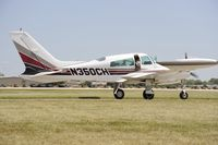 N350CH @ KOSH - Taxi for departure