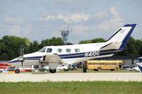 N410G @ KOSH - Landing 27 at OSH