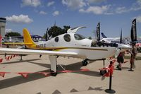 N427LE @ KOSH - Oshkosh EAA Fly-in 2009
