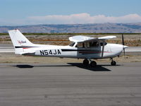 N54JA @ SQL - 1998 Cessna 172R taxiing for take-off - by Steve Nation