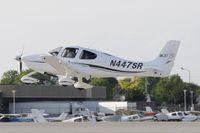 N447SR @ KOSH - Oshkosh EAA Fly-in 2009
